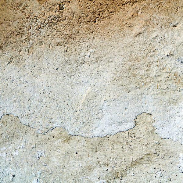 Closeup of old stucco